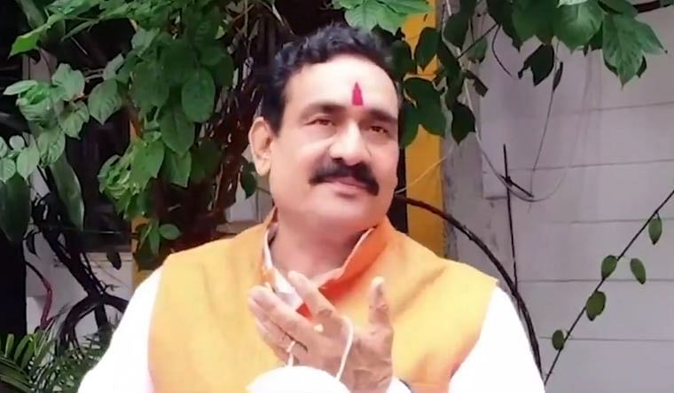 Home Minister Narottam Mishra, said  positivity rate in in just four districts is above five per cent