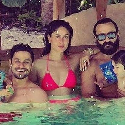 Kareena Kapoor wishes brother-in-law Kunal Kemmu with a stunning throwback pool picture from Maldives