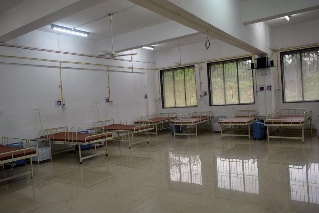 Covid care center at Juhu