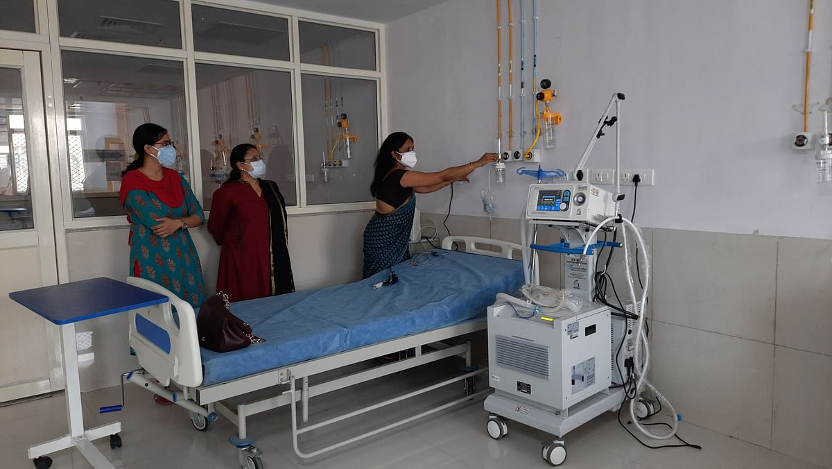 Khandwa: Paediatric Covid care ward set up for children, 7 doctors offer full time service
