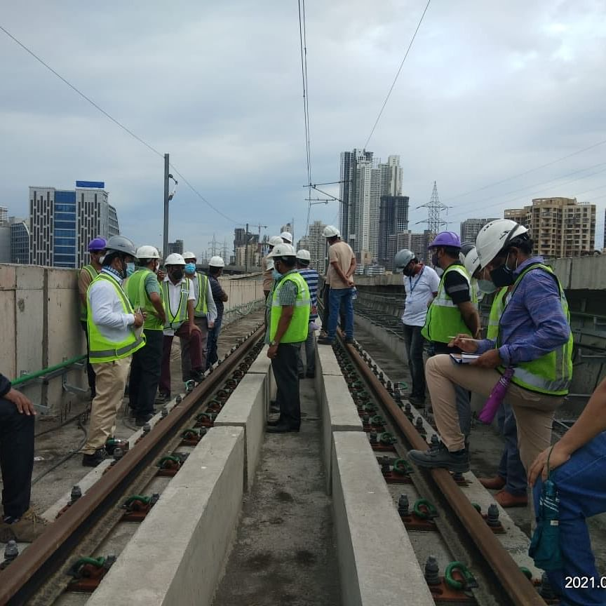 Mumbai Metro: 20 km trial run section overhead line electrification work completed