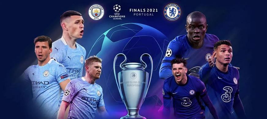 Clash of the best: Manchester City take on Chelsea in an all English Champions League final at the Estadio do Dragao today