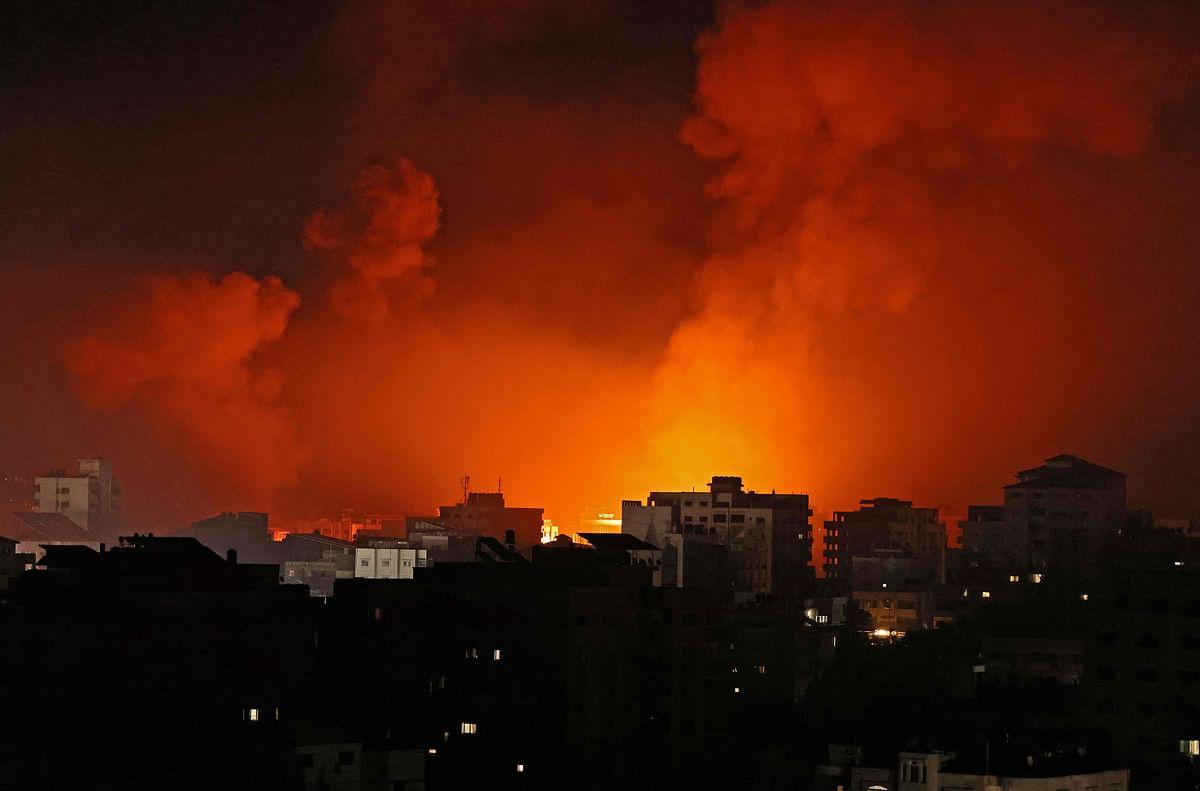 Israel-Palestine violence: Israeli military targets home of Gaza's top Hamas leader Yehiyeh Sinwar