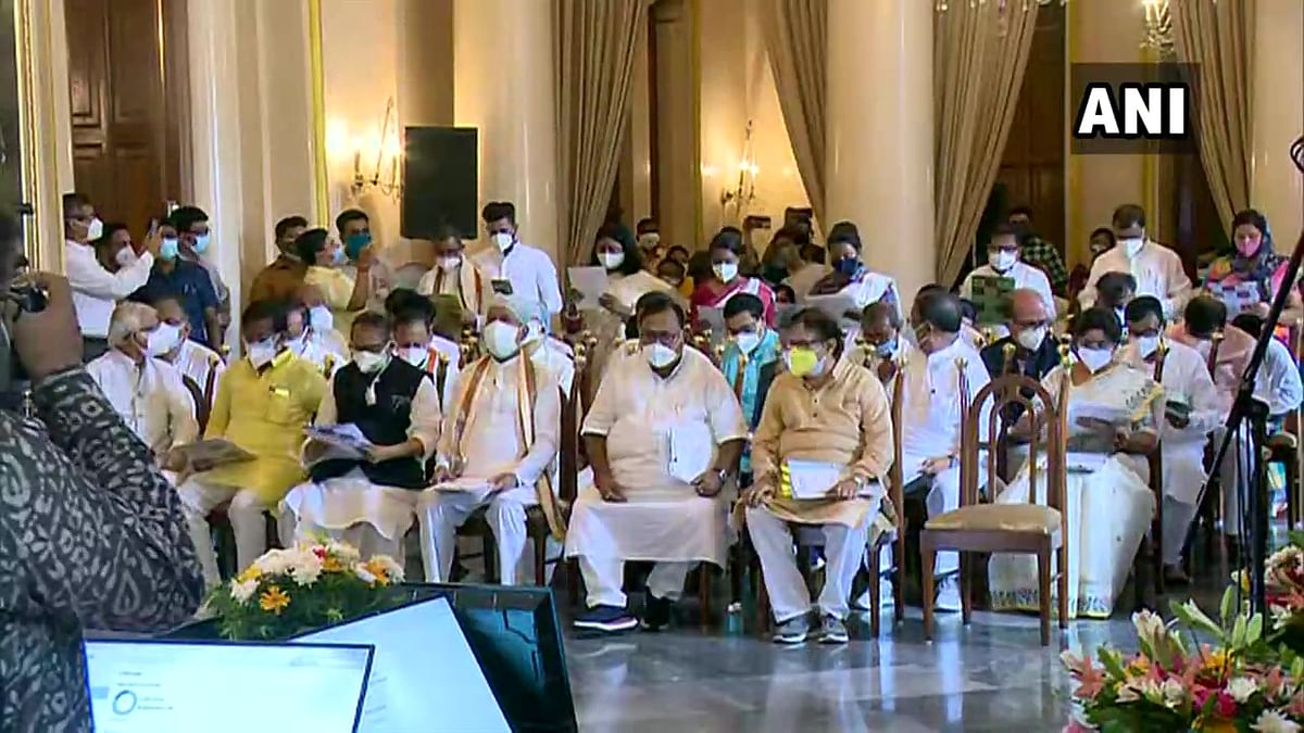 Newly elected TMC leaders take oath as members of West Bengal Cabinet