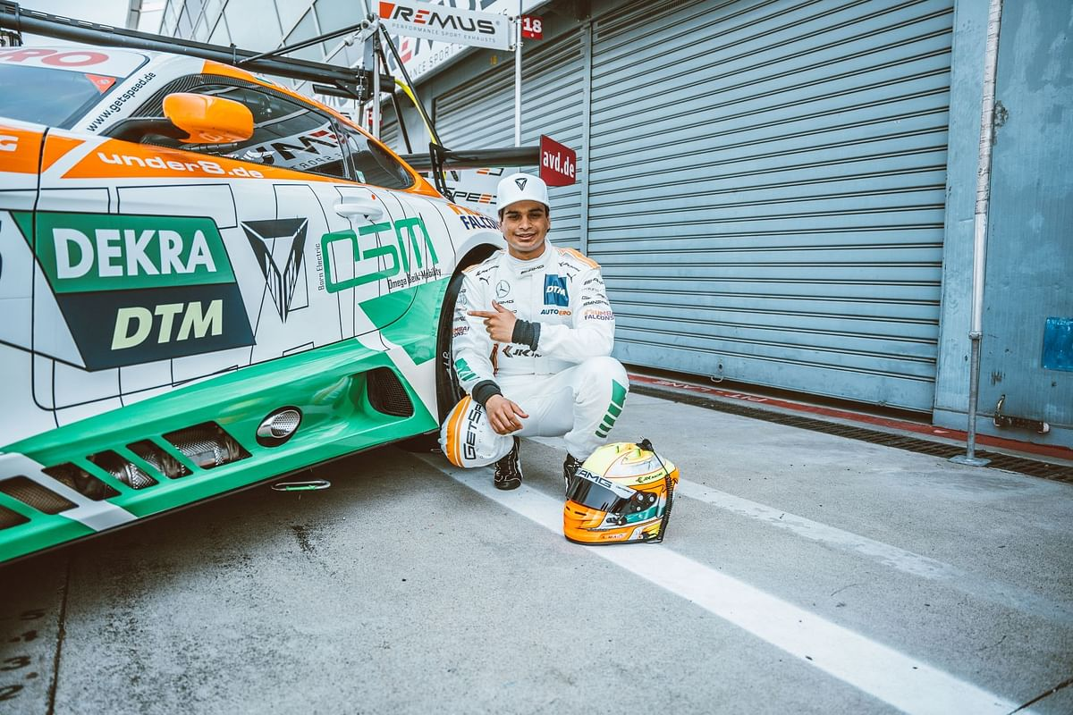 Arjun Maini is the First Indian to drive for Mercedes-AMG in DTM