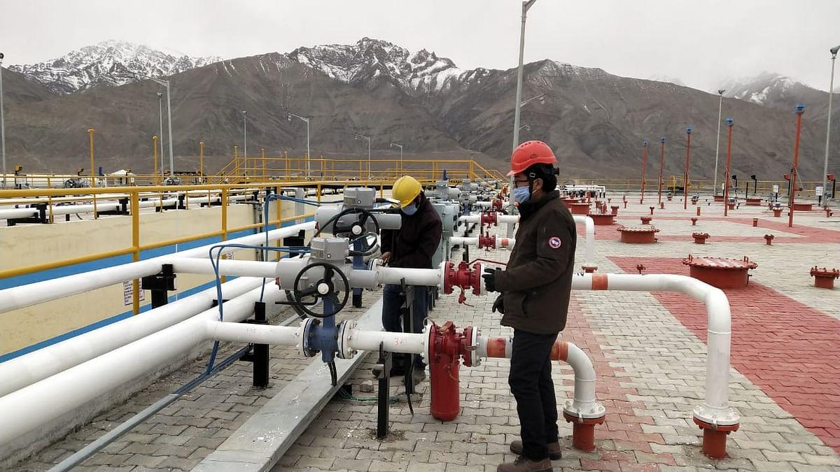 Ethanol blended petrol in the Ladakh region