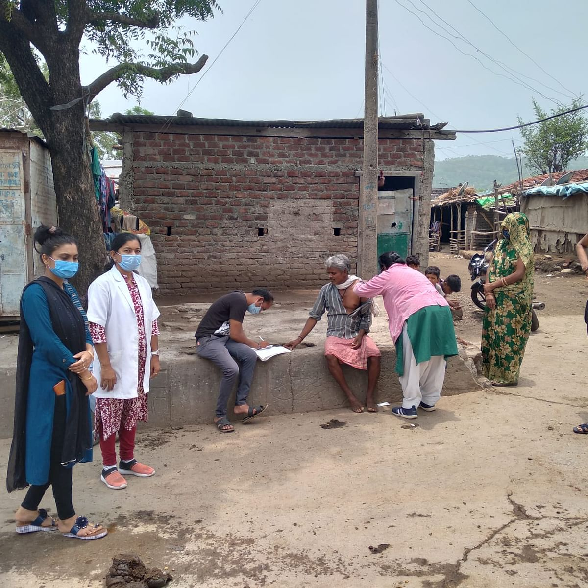 Vaccination in Mhow tehsil