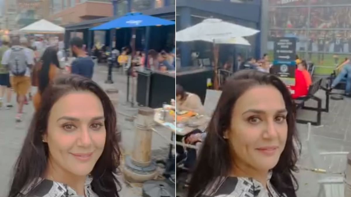 Preity Zinta 'happy' to see people resuming their pre-pandemic routines, gives a glimpse of her weekend