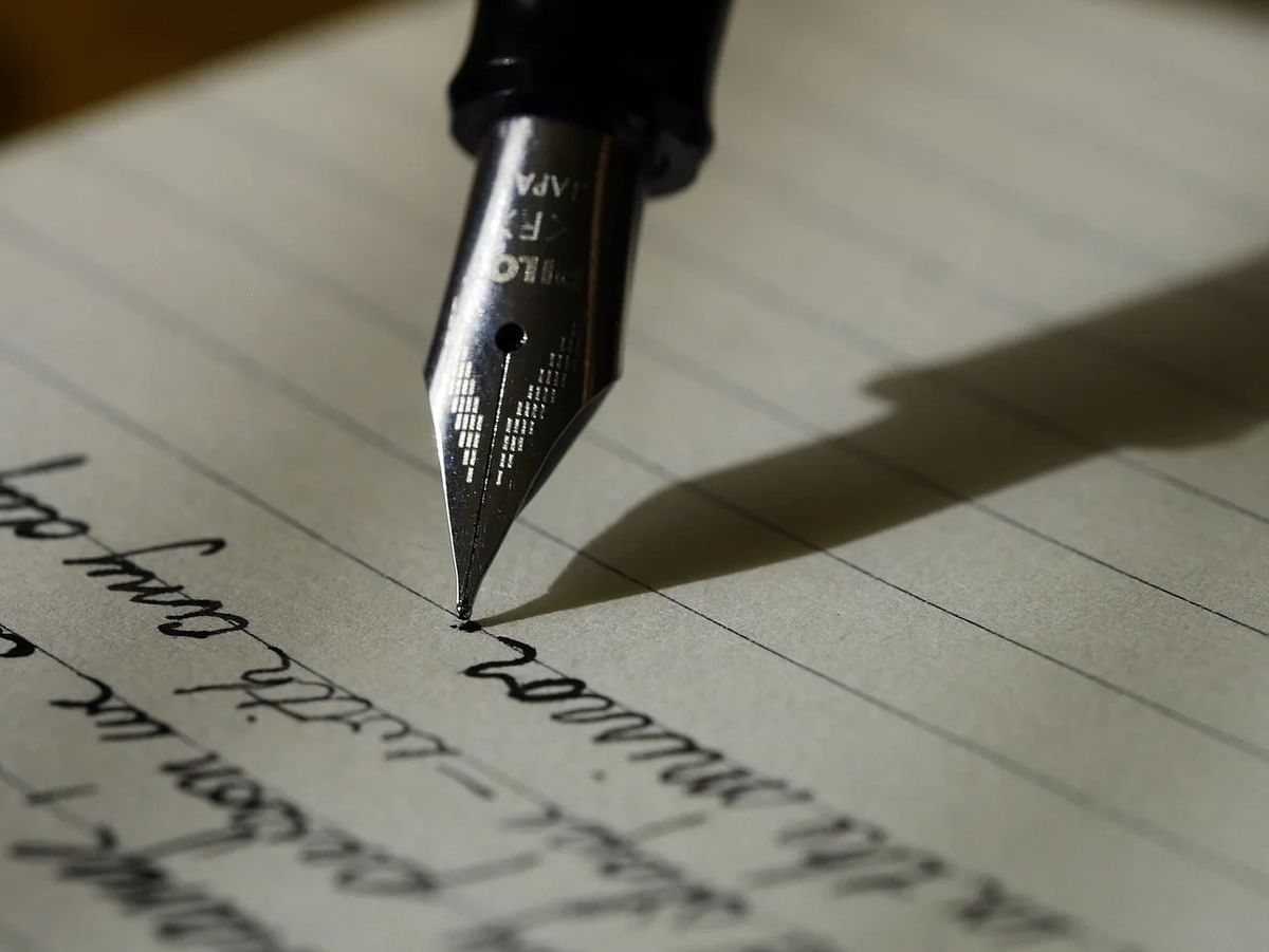 Time to use words and pen down your feelings.