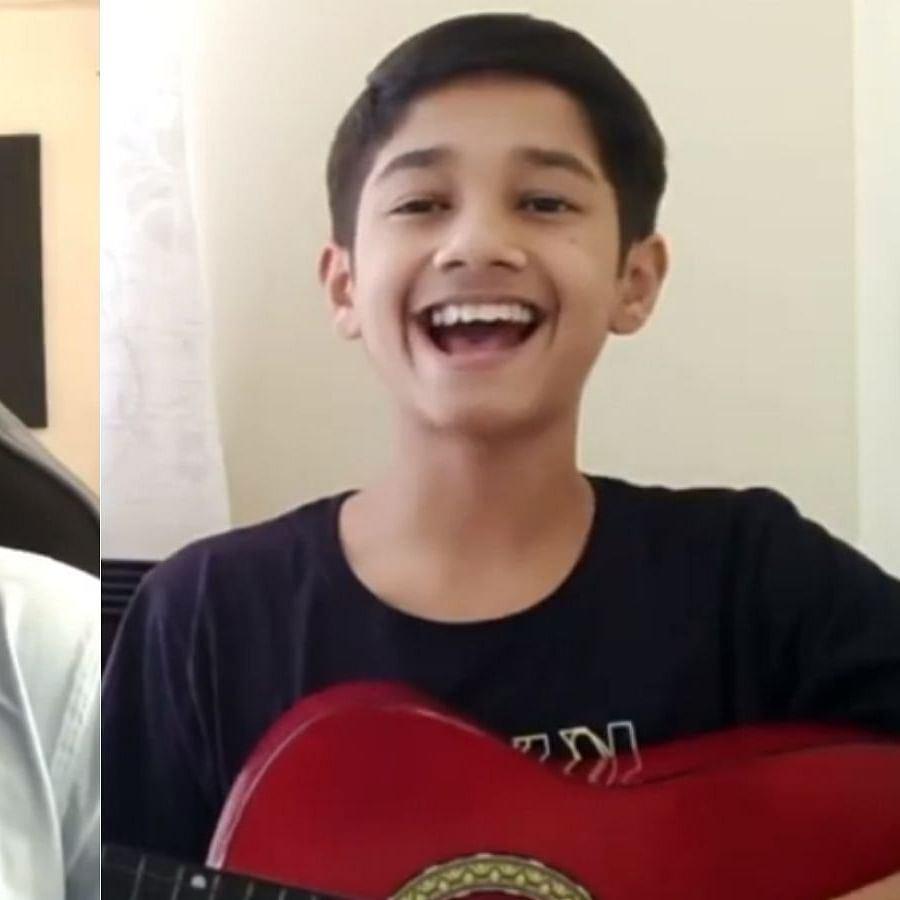 Watch: On World Music Day, The Family Man's Atharv takes guitar lessons from Yashraj Mukhate