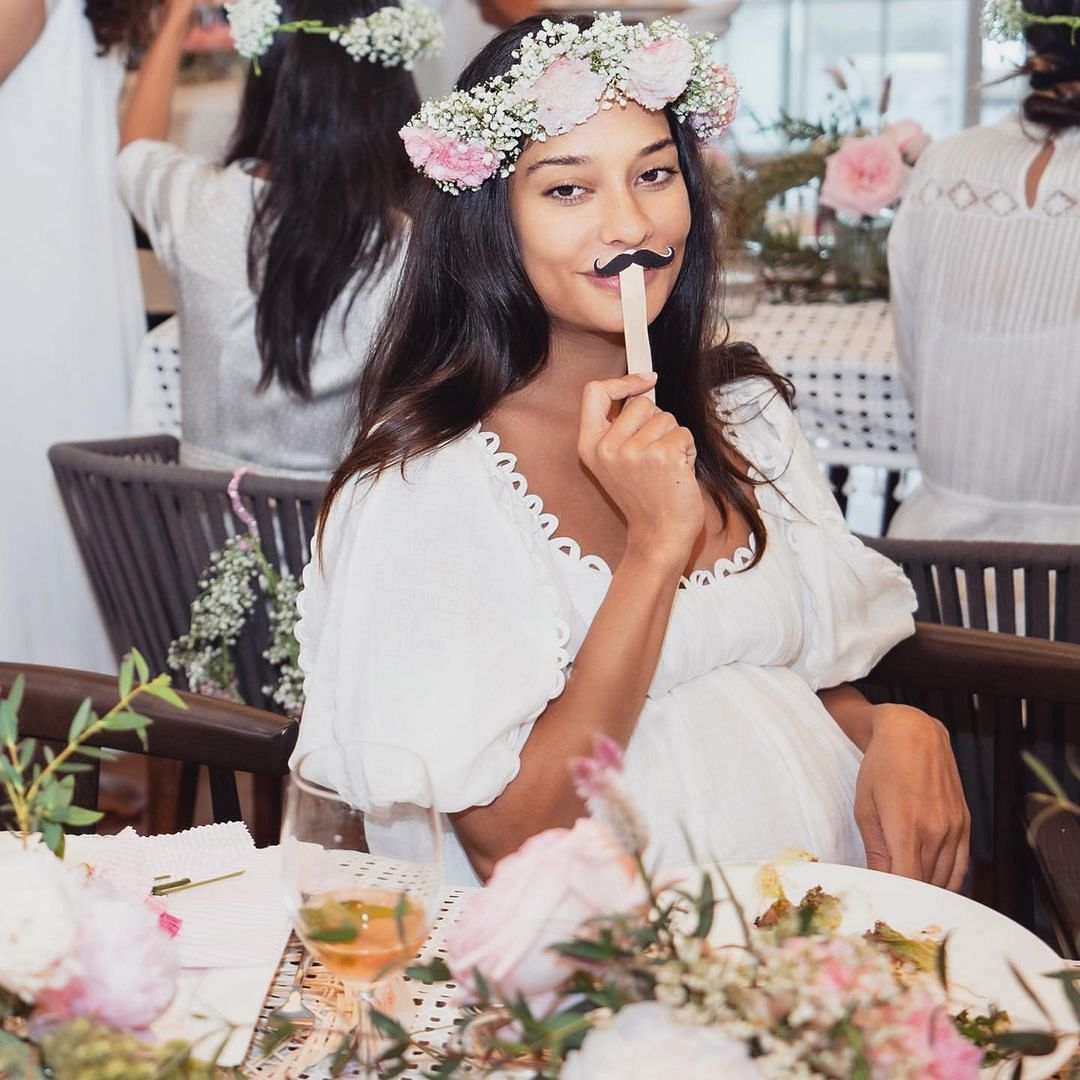 In Pics: Lisa Haydon's gal pals throw her a dreamy baby shower
