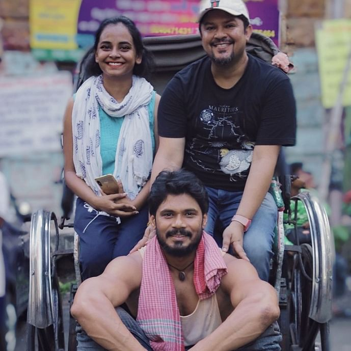 Ram Kamal Mukherjee's Rickshawala wins Award of Excellence in the The Best Shorts Film Competition