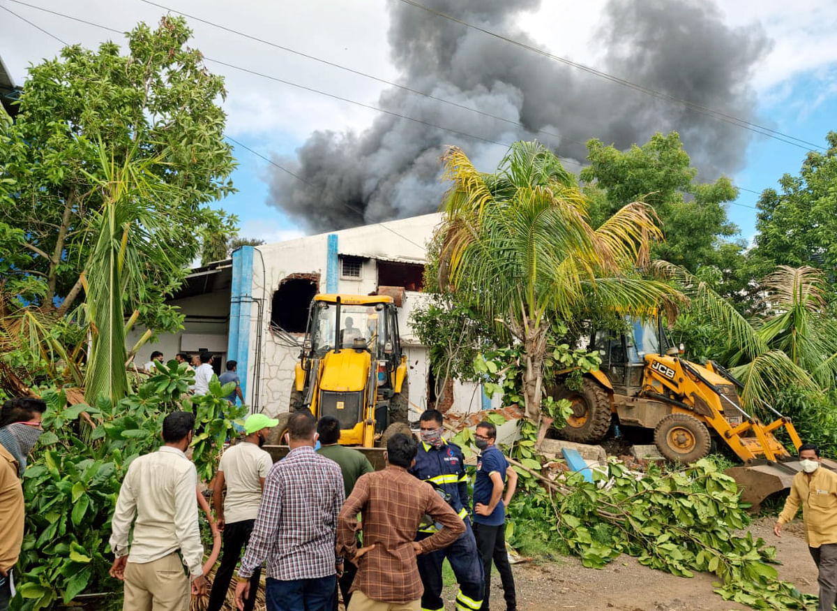 At least 18 dead in Pune chemical unit fire