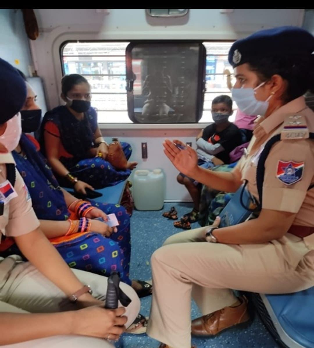 Central Railway Mumbai Division adopts new initiatives to make the women passenger feel safer