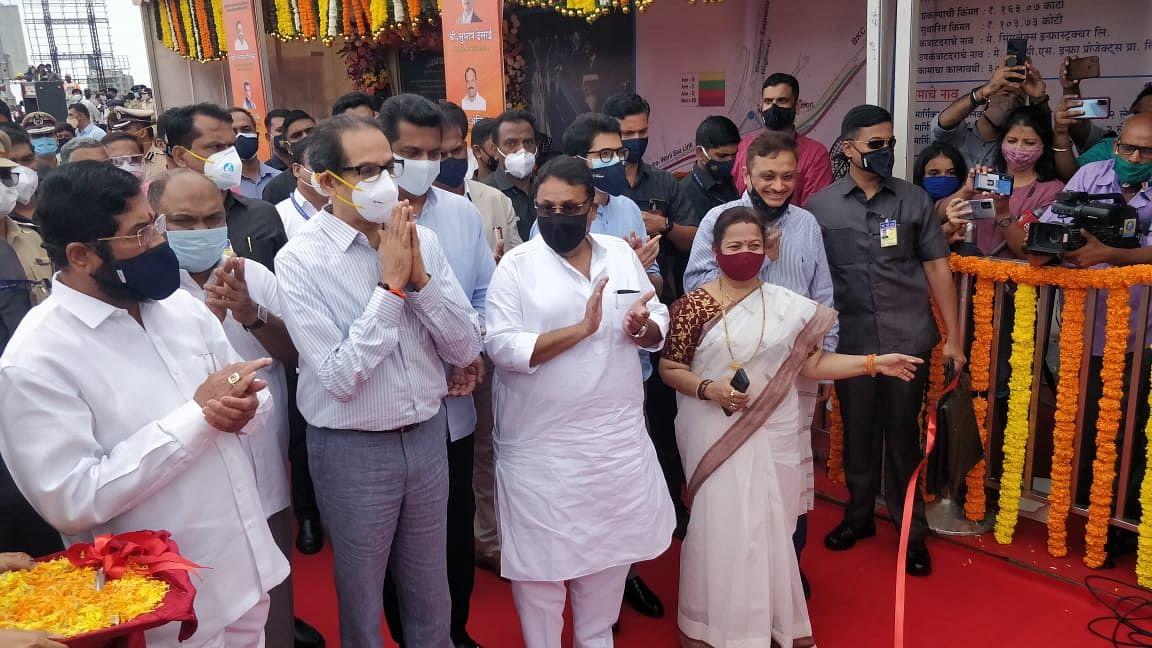 Good news for Mumbaikars! CM Uddhav Thackeray inaugurates 2nd arm of newly built Sealink-BKC flyover - See photos