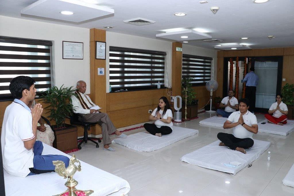 IREDA celebrates 7th International Yoga Day