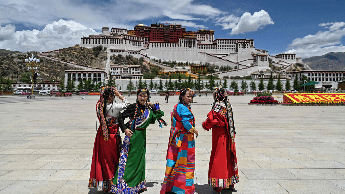 Graduation day, women decked up in traditional attire: See pics from Tibet's Potala Palace, a UNESCO classified World Heritage Site