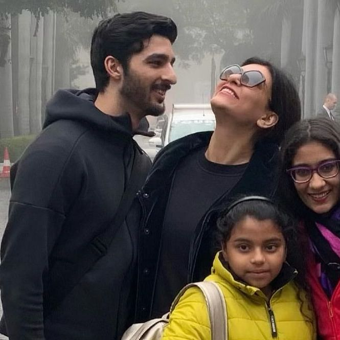 'It's all relaxed and happy': Renee opens up on her equation with mom Sushmita Sen's boyfriend Rohman Shawl