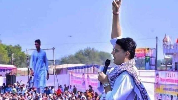 Amidst the reports of factionalism in Rajasthan Congress, #PilotAaRahaHai trends on Twitter
