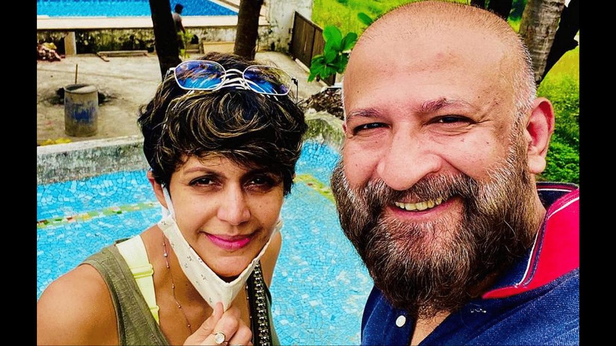Mandira Bedi and Raj Kaushal