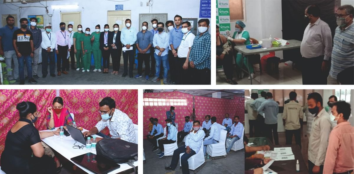 NBCC with NSL vaccinates over 600 construction workers