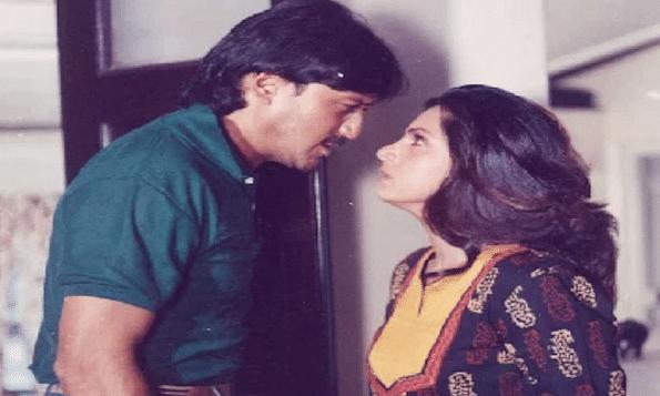 A still from Dimple Kapadia's film Kaash