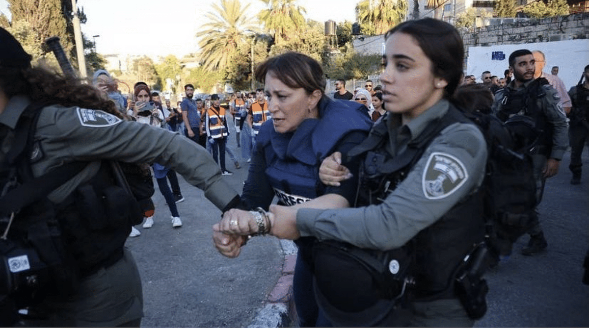 'Journalism is not a crime': Israeli police condemned globally after video of Al Jazeera journalist's arrest goes viral