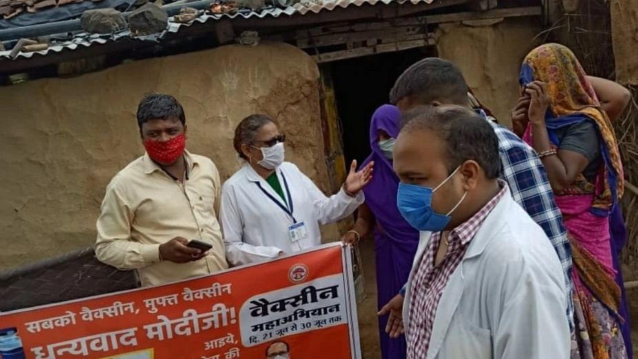 Mega-Vaccination Day-2: Tribal area in Ratlam-Bajna achieves 106.26 percent target