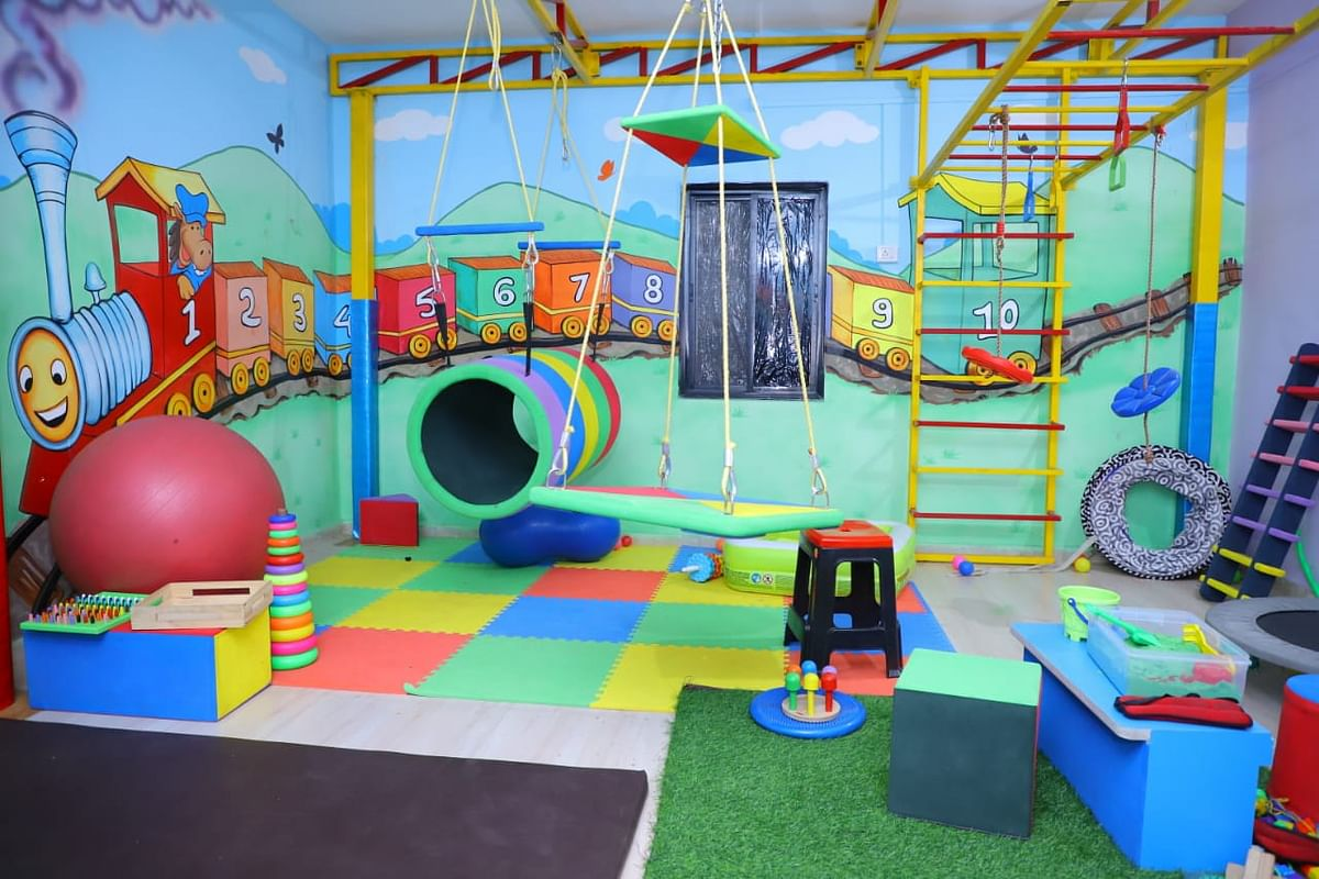 The newly set-up Autism centre is equipped with the latest equipment. A team of experts at the centre will treat various aspects of autism such as multiple disabilities, hyperactivity and also offer therapy for children suffering from orthopaedic issues.