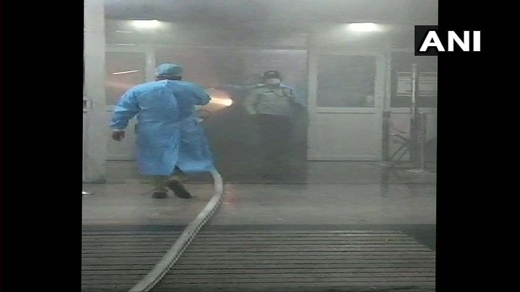 Delhi: Fire breaks out at AIIMS, no casualty reported