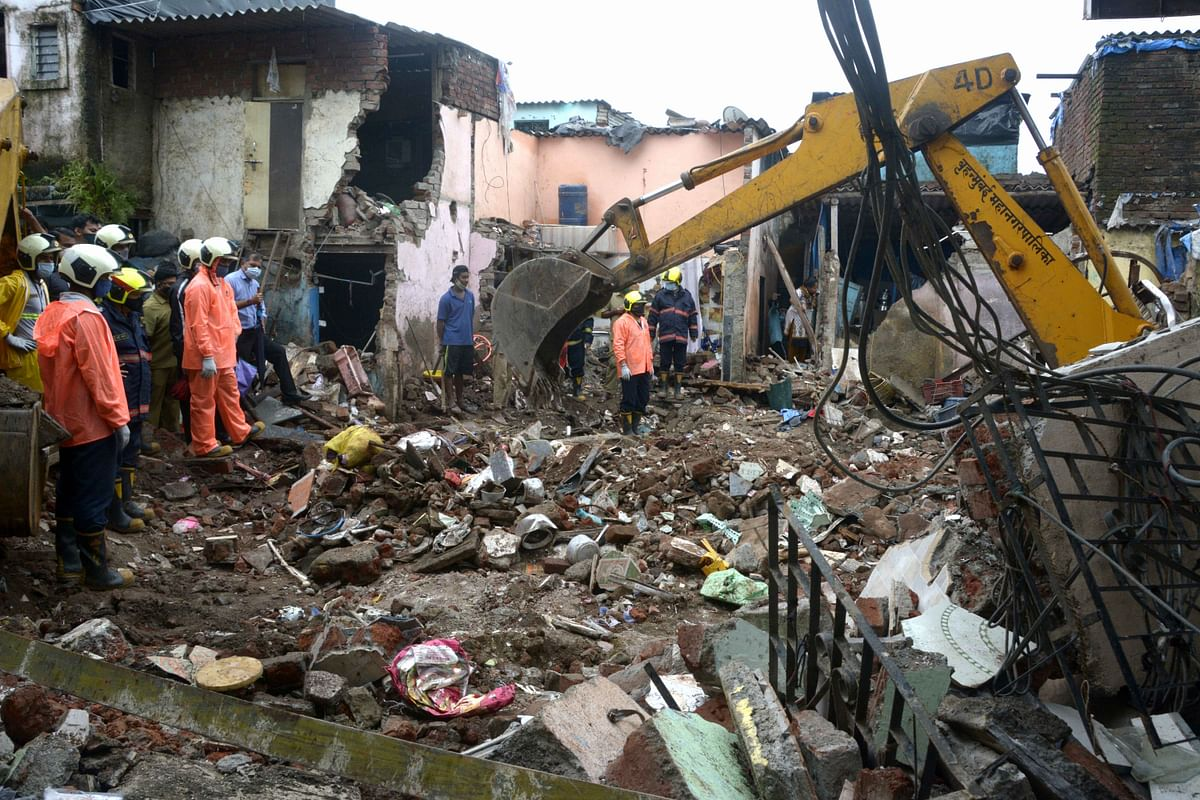 Mumbai: At least 12, including 8 kids, killed in Malvani building collapse; see pics