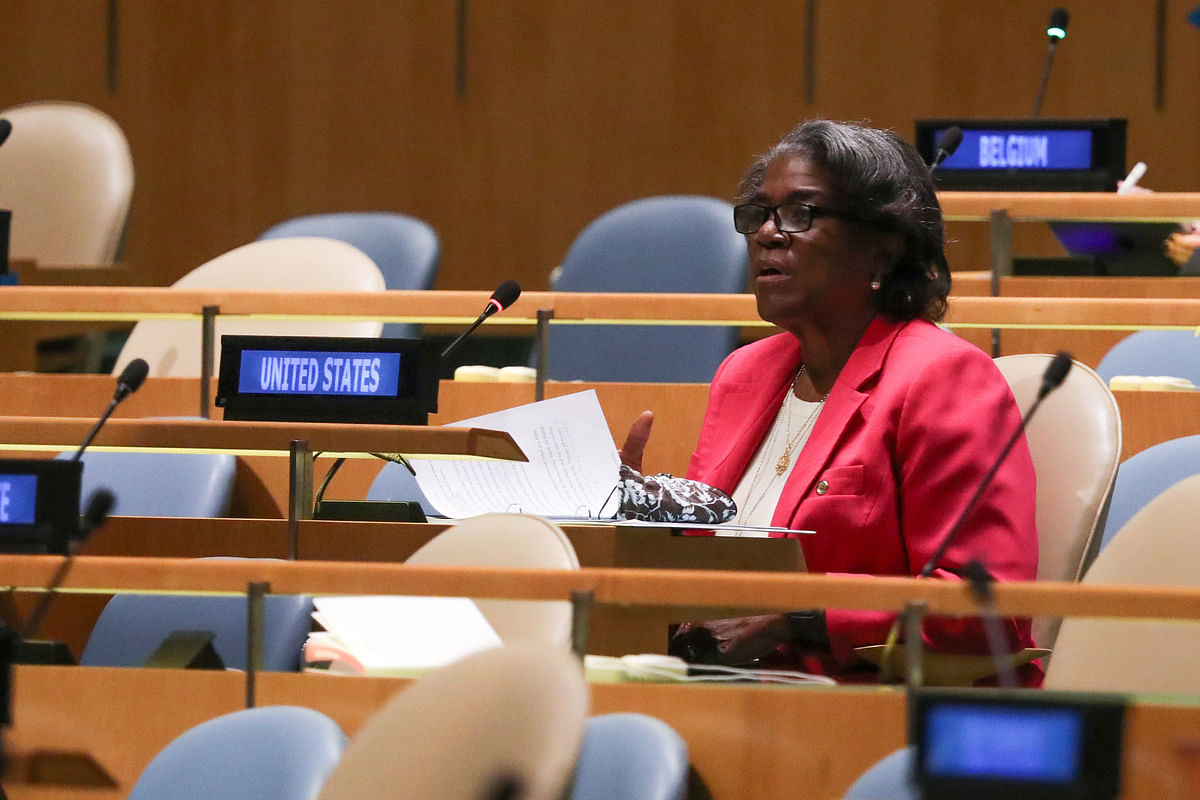 US ambassador to the UN Linda Thomas-Greenfield said that said that the United States shied away from multilateral engagement in the last four years, as a result, Beijing and other countries have taken leadership posts at a number of inter-governmental organisations