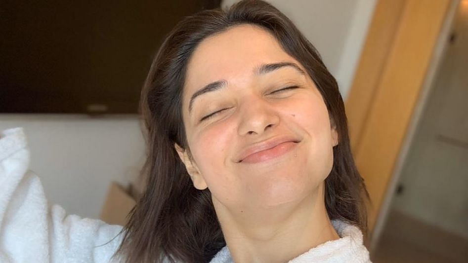 Tamannaah Bhatia's skincare tip involves 'morning saliva'; says 'it actually works'