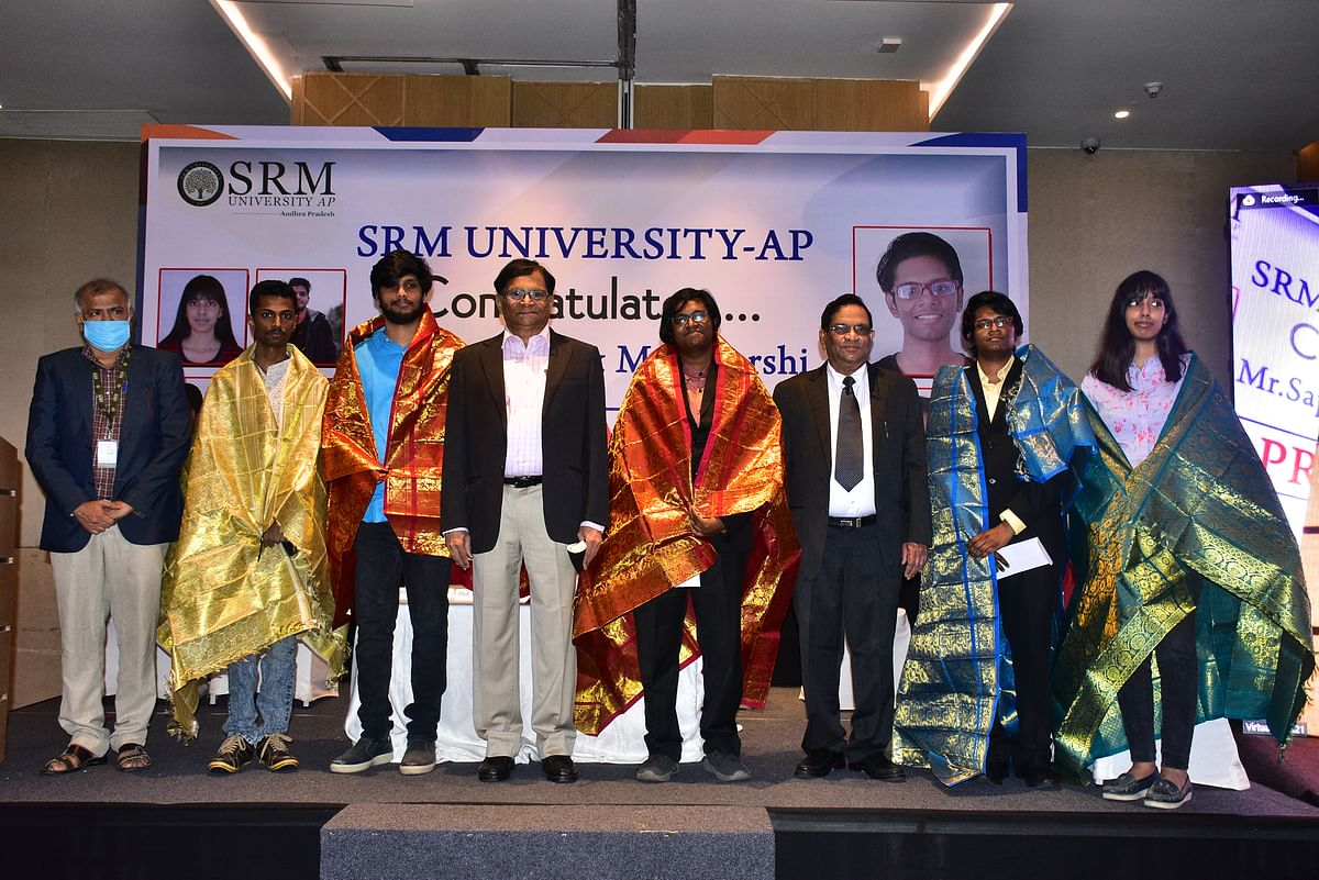 SRM University-AP sets new records on pinnacles of excellence