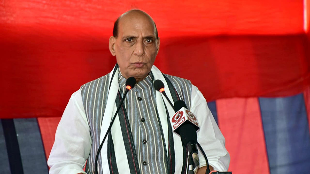 PM Modi fulfilled commitment made to armed forces through 'one rank one pension': Rajnath Singh