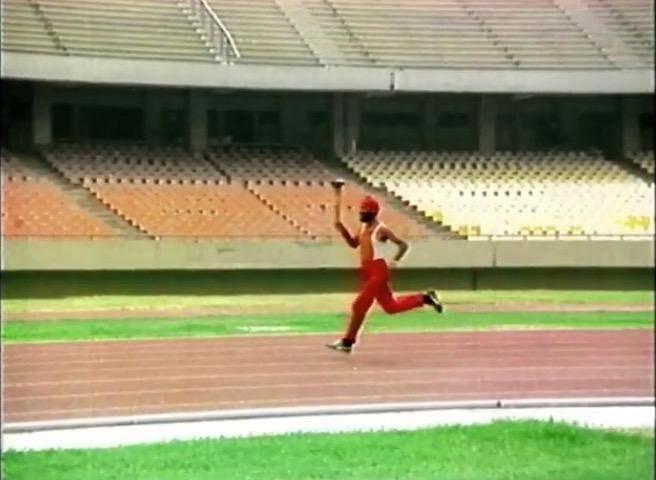 Milkha Singh in the short film, Freedom Run