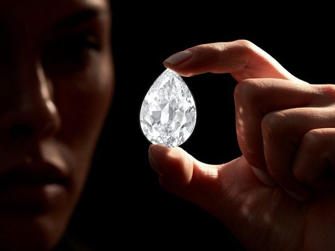 Buy a massive diamond with cryptocurrency amid cryptocurrency crackdown
