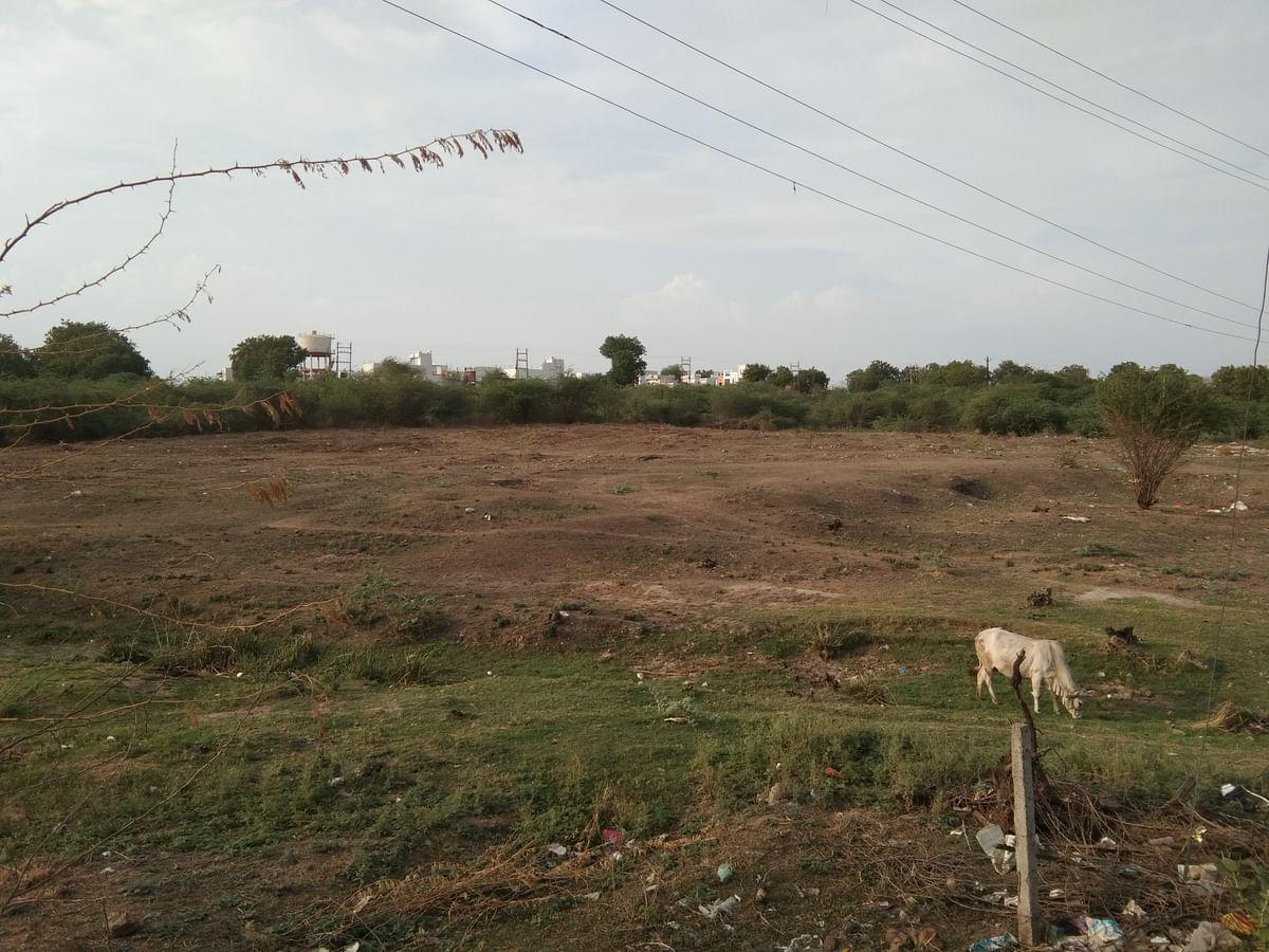Madhya Pradesh: Cleaning begins at AYUSH Hospital site in Mandleshwar