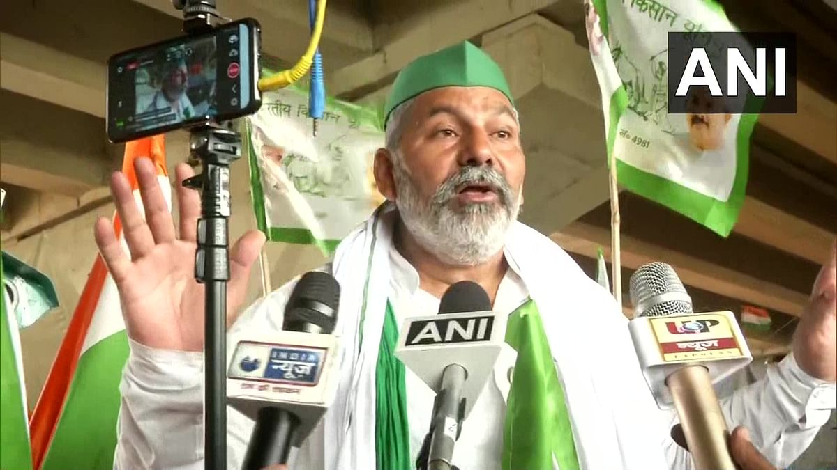 Farmers' union to hold tractor rally on July 9, more plans to strengthen movement: BDU leader Rakesh Tikait