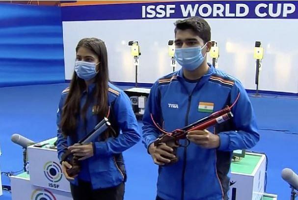 ISSF Shooting World Cup: Indian Shooters Manu-Saurabh win silver