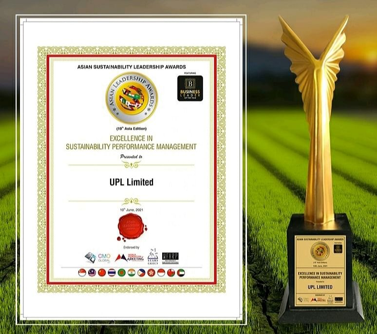 UPL bags the Asian Sustainability Leadership Award for Excellence in Sustainability Performance Management