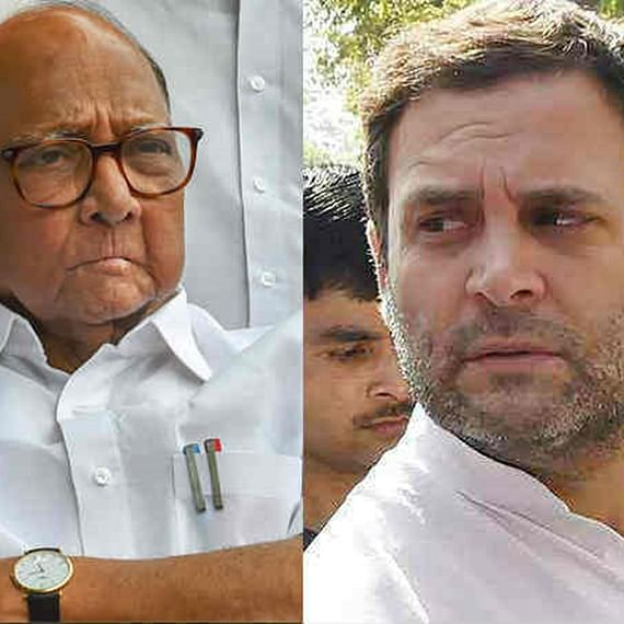 Rahul Gandhi should join hands with Sharad Pawar to bring Opposition parties together: Shiv Sena