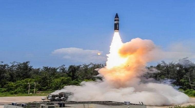 India successfully test-fires Agni Prime missile