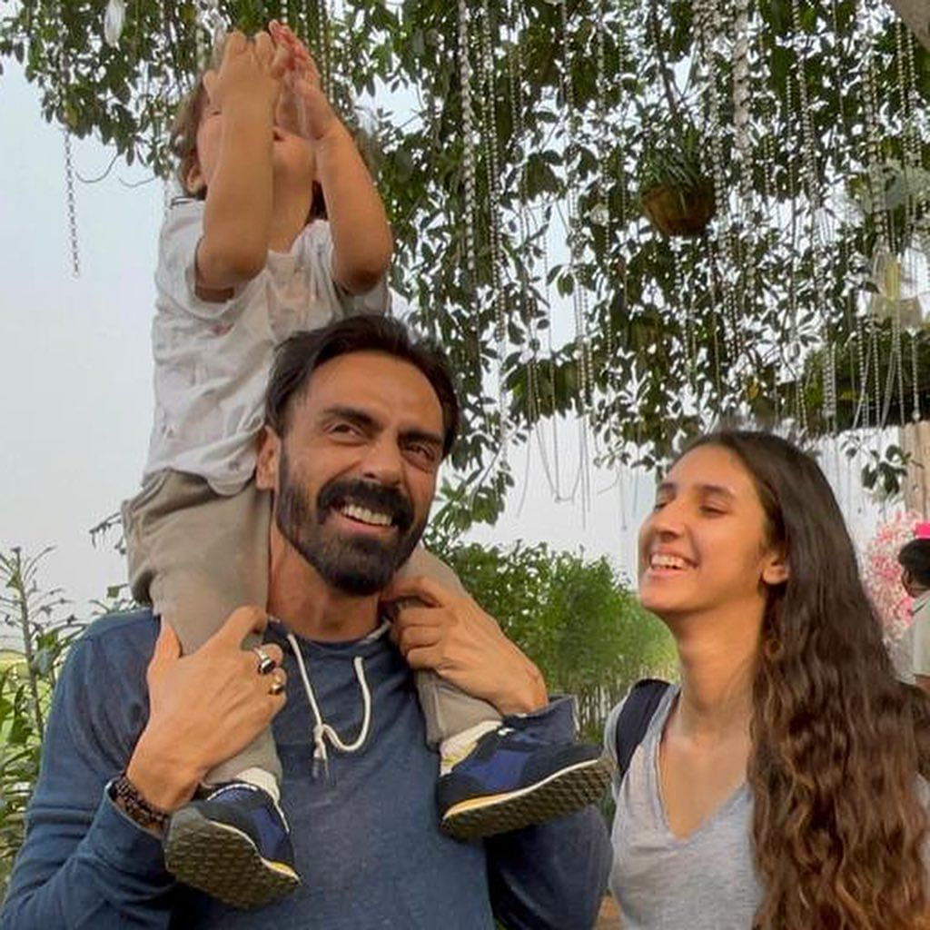 'Can't wait to have you in my arms': Arjun Rampal posts a heartfelt birthday wish for daughter Myra