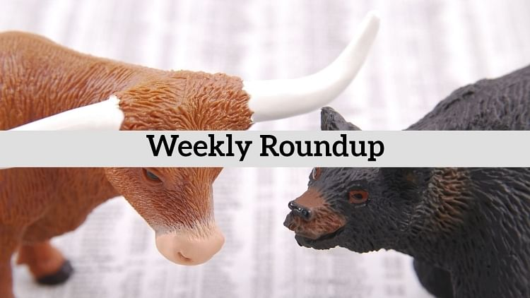 Bulls hold gains after volatile week, close on positive territory
