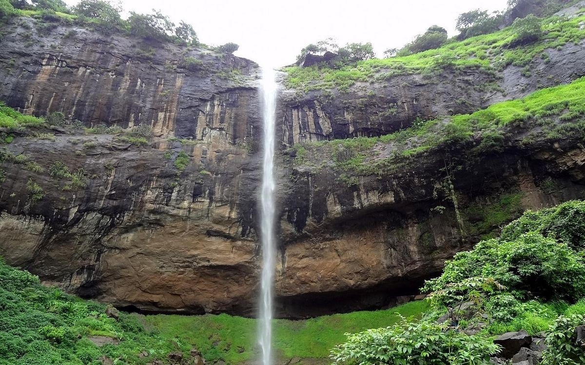 Pandavkada Falls in Kharghar, Navi Mumbai