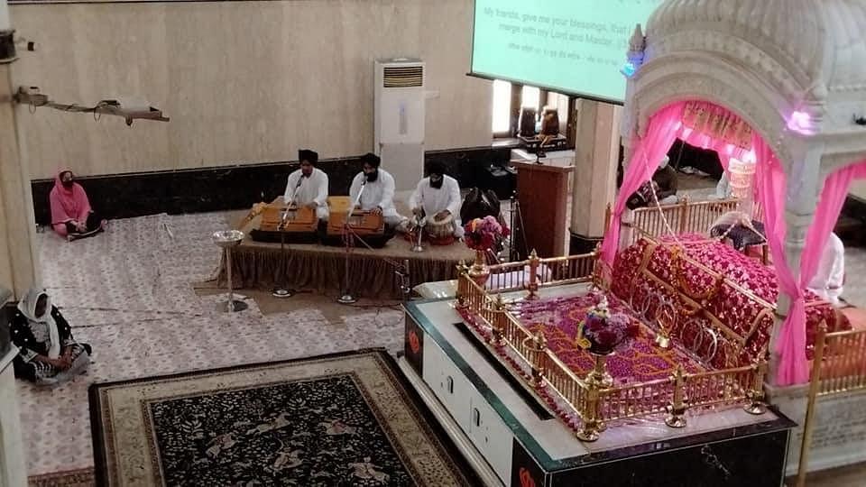 Special prayers were organised at Gurdwara Imli Sahib Ji in Indore on Sunday
