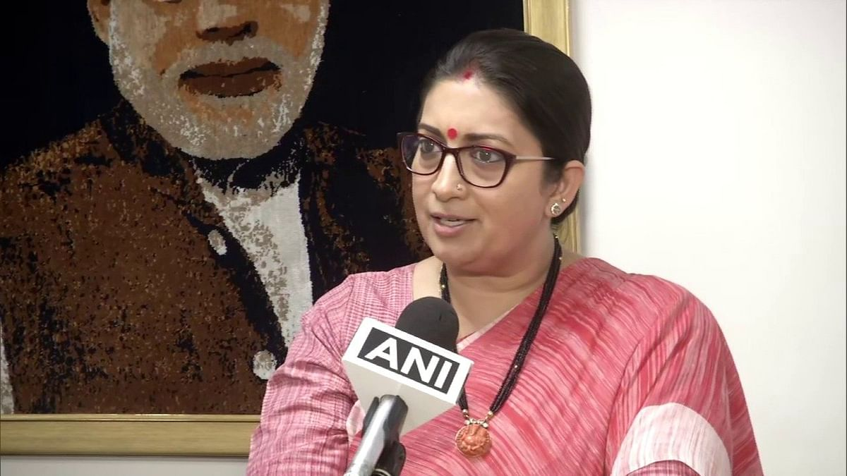 Smriti Irani slams Mamata Banerjee over post-poll violence in Bengal, says 'CM is watching people die because they didn't vote for her'