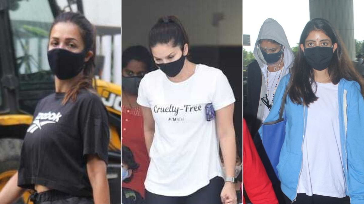 Photos: Sunny Leone, Malaika Arora, Navya Naveli Nanda and other celebs spotted in Mumbai