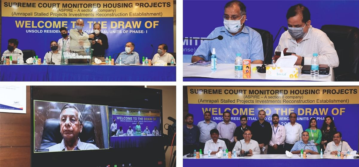 First draw held for allotment of unsold inventory of Supreme Court monitored Amrapali projects